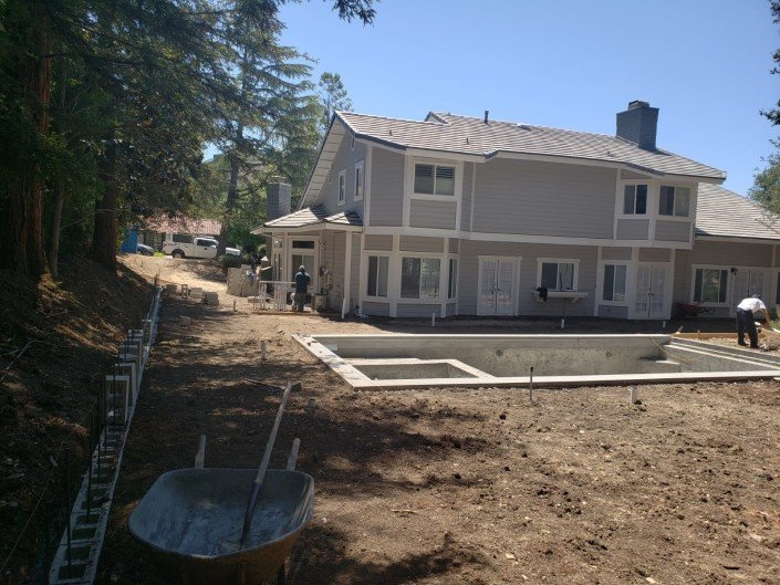 active - Backyard Remodel and Pool Construction - Northridge 2