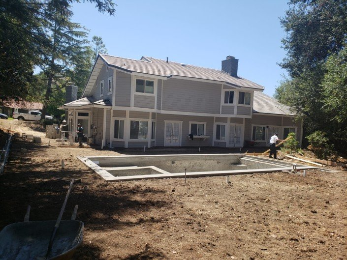 active - Backyard Remodel and Pool Construction - Northridge 1