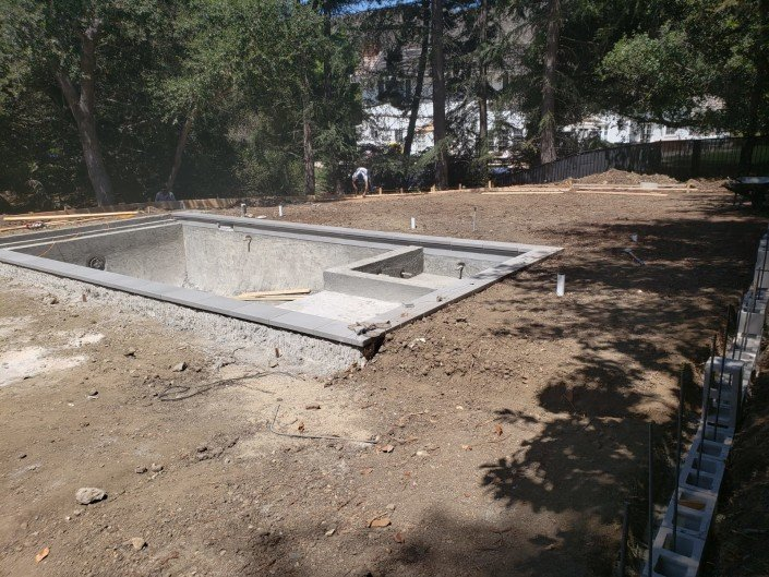 active - Backyard Remodel and Pool Construction - Northridge 5