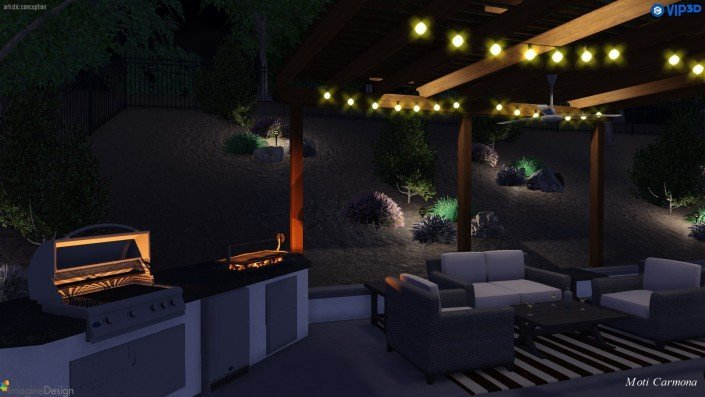 Pool Design and Backyard Remodel - Bell Canyon 15