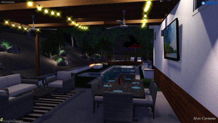 Pool Design and Backyard Remodel - Bell Canyon 16