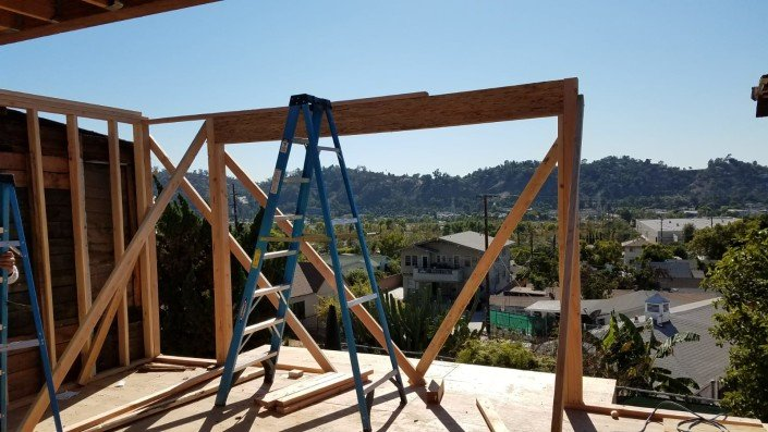 Eagle Rock LA - Complete Home Reinforcement and Balcony Addition 1